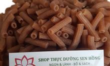 Nui ống gạo lứt hữu cơ - không phẩm màu, không phụ gia bảo quản