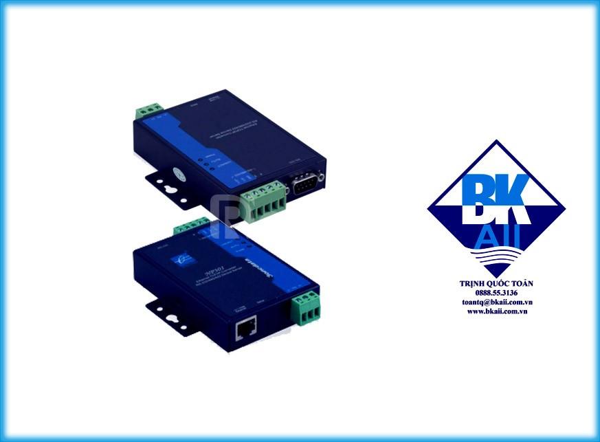Bộ chuyển đổi 1 cổng RS232485422 sang Ethernet model : NP301 (ảnh 1)