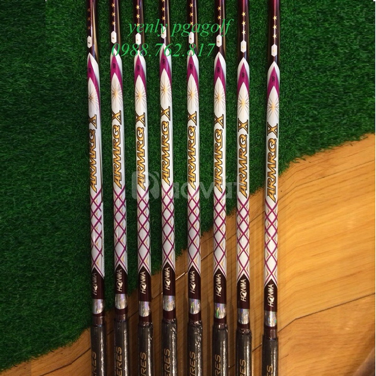 Bộ gậy golf Honma Beres E-06 3 sao Ladies (New Model)