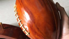 Mô hình bóng bầu dục Mỹ, trái bóng gỗ tự nhiên (ảnh 5)