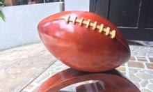 Mô hình bóng bầu dục Mỹ, trái bóng gỗ tự nhiên