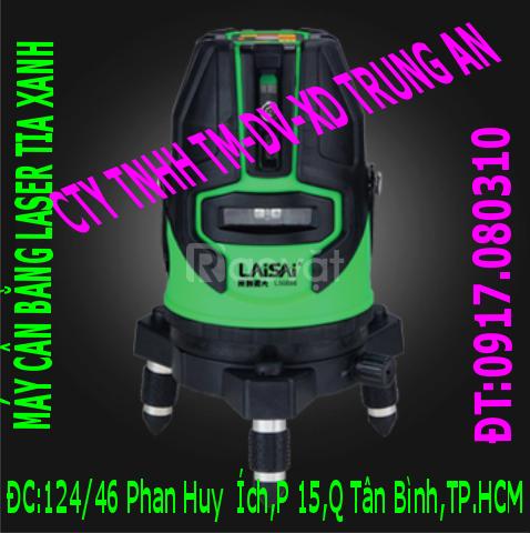 Máy cân bằng laser tia xanh Laisai lsd686d (ảnh 1)