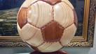 Mô hình bóng bầu dục Mỹ, trái bóng gỗ tự nhiên (ảnh 6)