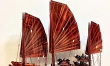 Mô hình mỹ nghệ gỗ thuyền Hạ Long 60cm