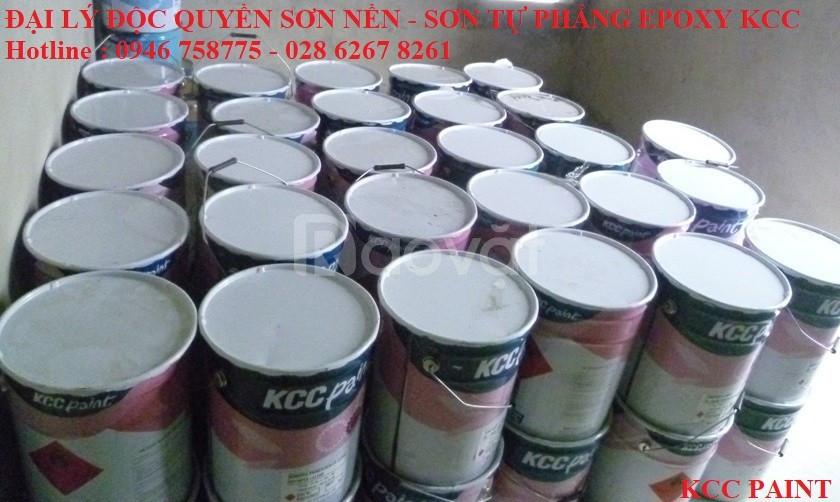 Mua bán sơn epoxy kcc et5660 xám 7035 giá rẻ Thái Nguyên