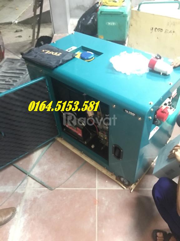 Máy phát điện chạy dầu gia đình 5kw, 6kw, 7kw, 8kw  (ảnh 7)