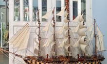 Mô hình thuyền gỗ lớn France II 2m