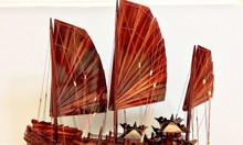 Mỹ nghệ gỗ mô hình thuyền Hạ Long 80cm
