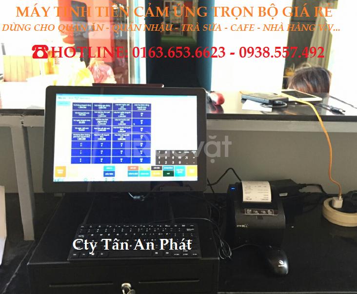 Combo trọn bộ máy tính tiền pos cho quán cafe tại Hà Tĩnh (ảnh 1)