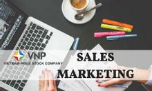 Chuyên viên Sales - Marketing