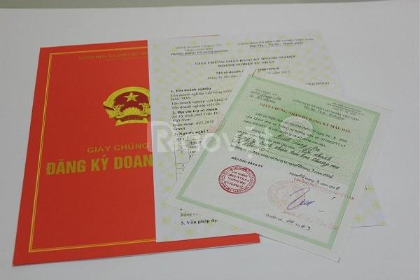 Thành lập công ty, đăng ký kinh doanh Bình Dương HCM