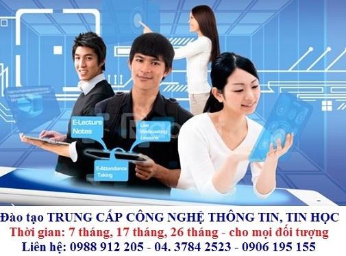 Học trung cấp tin học - CNTT cấp tốc có nhanh bằng tại Hà Nội