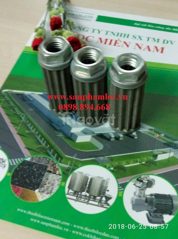 Lõi lọc dầu inox 304 lọc cặn, tạp chất trong vận hành hệ thống