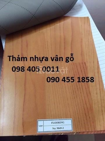 Đại lý thảm nhựa vân gỗ giá rẻ, vân đá giá rẻ