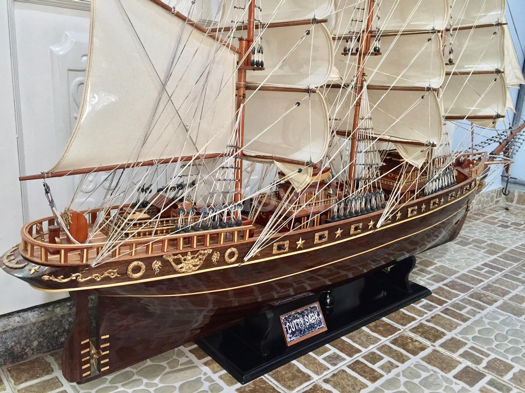 Mô hình thuyền gỗ lớn Cutty Sark 2m
