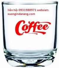 Chuyên in ấn ly thủy tinh, ấm chén sứ, cốc trà sữa và túi nylon
