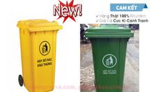 Nơi xả kho thùng rác 240 lít rẻ nhất đủ màu sắc