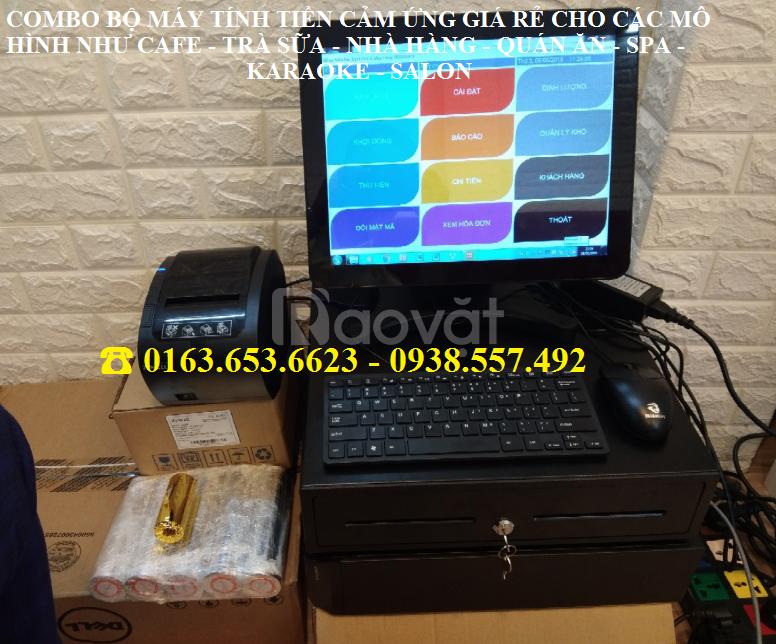 Trọn bộ máy tính tiền cảm ứng cho spa, salon giá rẻ (ảnh 4)