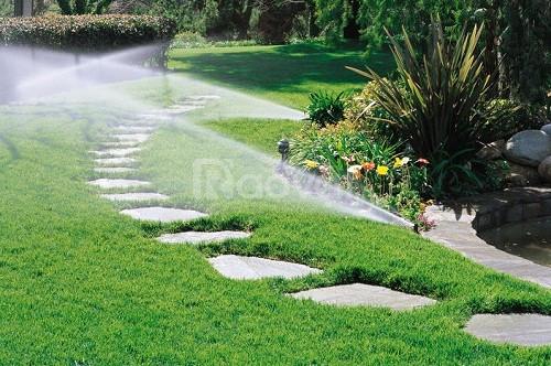 Tưới cảnh quan, tưới cảnh quan sân vườn, hệ thống tưới cảnh quan sân