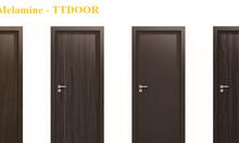 Cửa gỗ công nghiệp Melamine cho phòng ngủ cao cấp TpHCM