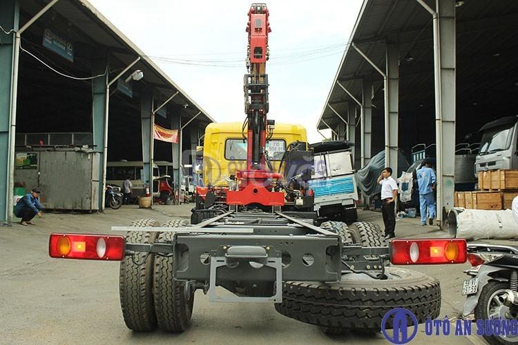 Xe tải Dongfang 9t gắn cẩu PalFinger chỉ với 125 triệu đồng hỗ trợ 90% (ảnh 4)