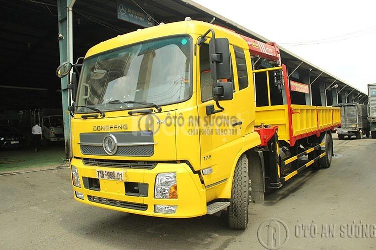Xe tải Dongfang 9t gắn cẩu PalFinger chỉ với 125 triệu đồng hỗ trợ 90% (ảnh 5)