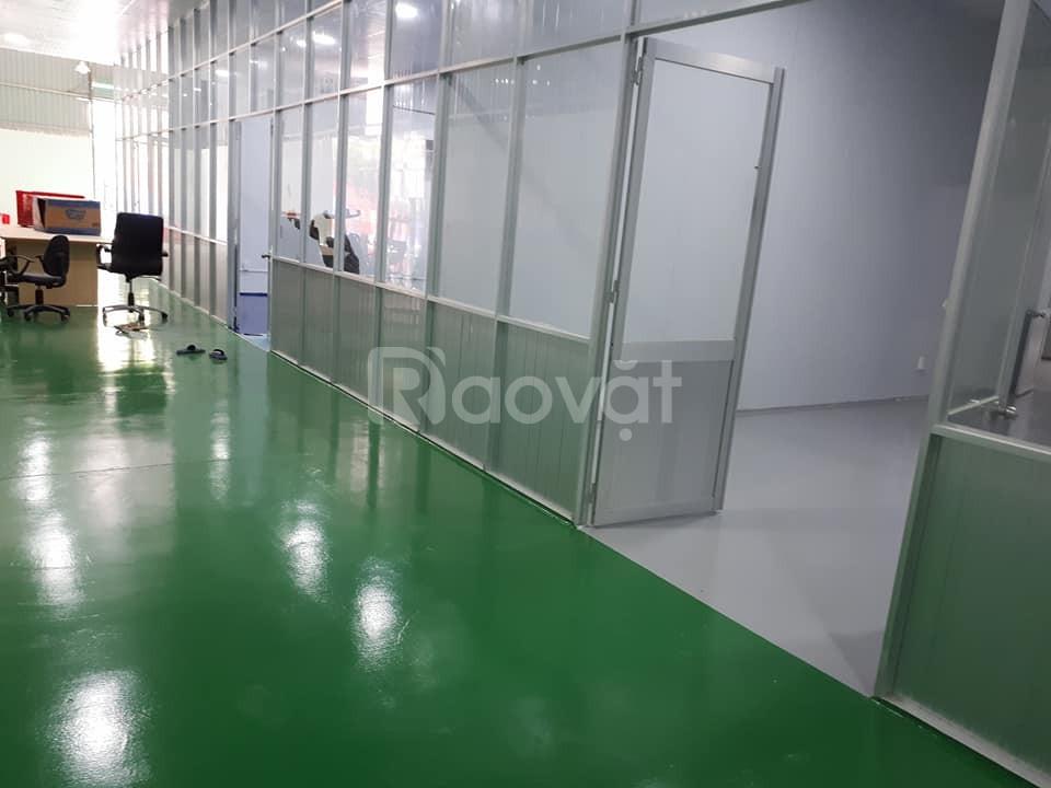 Công ty thi công sơn sàn Epoxy nhà xưởng tại Bình Dương