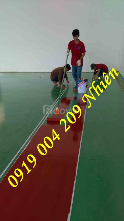Thi công sơn sàn nhà xưởng Epoxy giá rẻ tại An Giang
