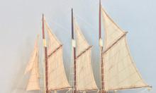 Mô hình du thuyền Atlantic gỗ tự nhiên 60cm