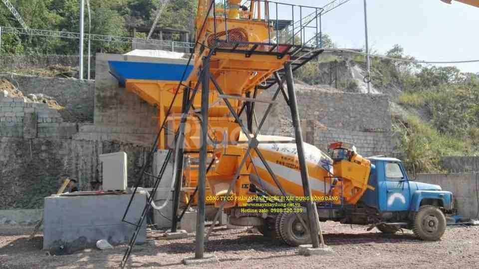 Bồn trộn bê tông 3 m3 HYG3 hàng nhập khẩu