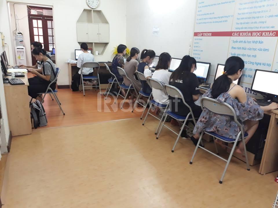 Trung tâm dạy tin học văn phòng tốt ở Hà Nội