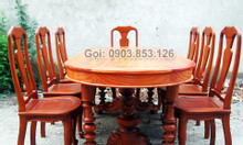 Bộ bàn ghế phòng ăn cao cấp Phong Khoa