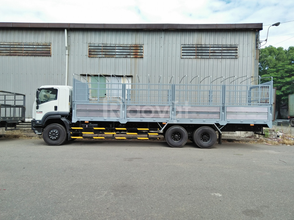 Xe tải Isuzu 14, 15, 16 tấn thùng mui bạt giá lăn bánh  (ảnh 5)
