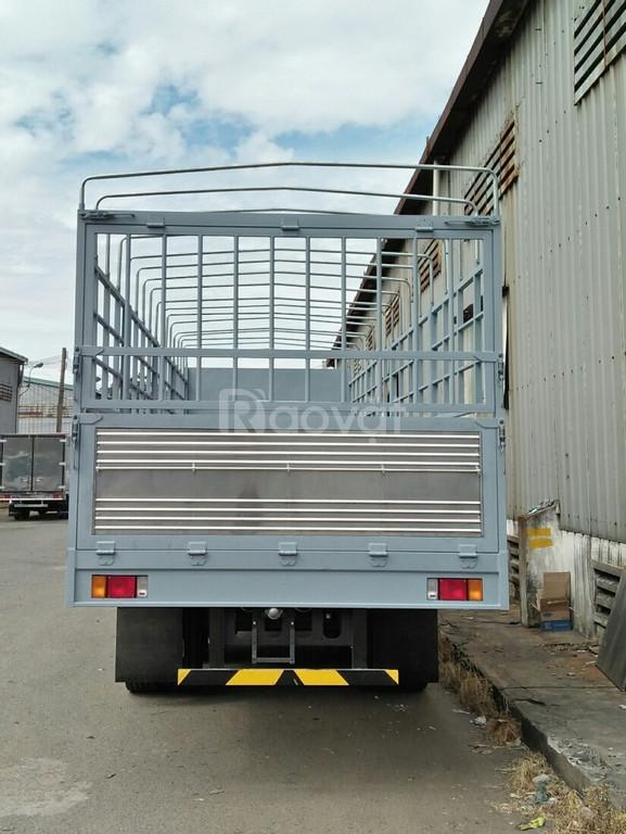Xe tải Isuzu 14, 15, 16 tấn thùng mui bạt giá lăn bánh  (ảnh 4)
