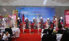 Lễ khởi công xây dựng dịch vụ của nhà bạt Thiên Thanh