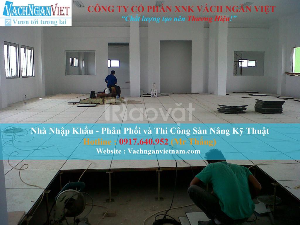 Tư vấn mua sàn nâng kỹ thuật HPL tại Đà Nẵng, TPHCM