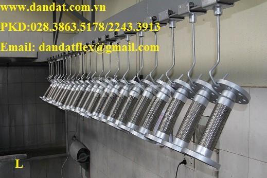 Khớp nối mềm chống rung inox - ống mềm giảm chấn