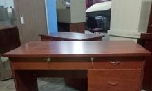 Bàn văn phòng 1m2 màu nâu mới