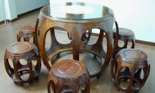 Bán bộ bàn ghế trống gỗ hương