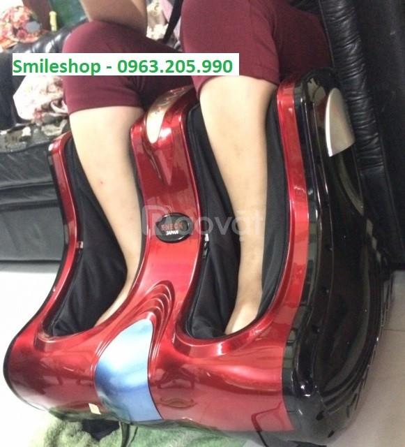 Máy massage chân giảm đau ấn huyệt Nhật Bản, máy mát xa bắp chân