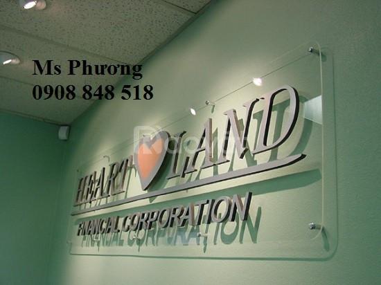 Làm logo công ty, cửa hàng, nhà hàng bằng công nghệ cắt cnc plasma