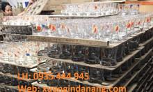 Xưởng in logo ấm chén cốc sứ, ly thủy tinh giá rẻ tại Đà Nẵng