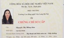 Học nhanh chứng chỉ cấp dưỡng tại Hồ Chí Minh