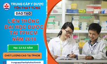 Liên thông Đại học Dược 2018 tại Y dược Tôn Thất Tùng