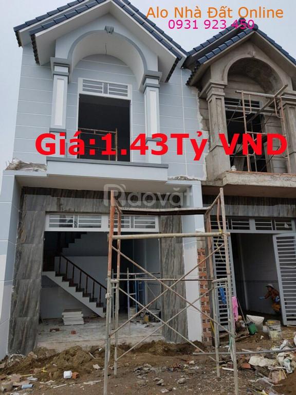 Cần bán gấp nhà mới, đẹp, sổ hồng chính chủ, giá chỉ 1.43 tỷ (ảnh 1)