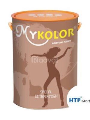 Pha màu sơn nước ngoại thất Mykolor Semigloss tại quận Tân Bình