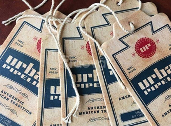 Hangtag, thẻ bài giấy - các loại thẻ bài giấy cho may mặc