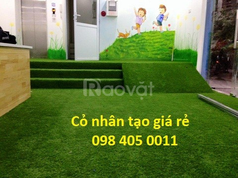 Cỏ nhân tạo, cỏ trang trí giá tốt Hà Nội