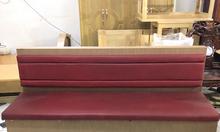 Thanh lý salon gỗ bọc nệm 3 chỗ ngồi cũ giá rẻ