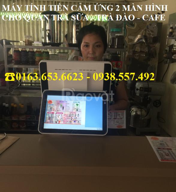 Tư vấn máy tính tiền 2 màn hình trọn bộ cho quán trà sữa giá rẻ (ảnh 4)